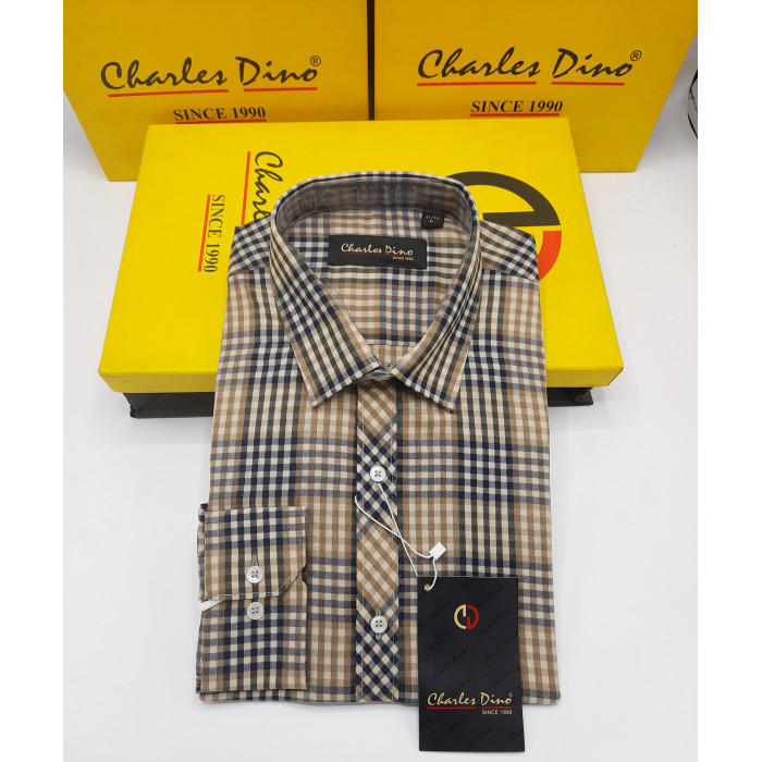 Light Brown Weaved Checkers Charles Dino