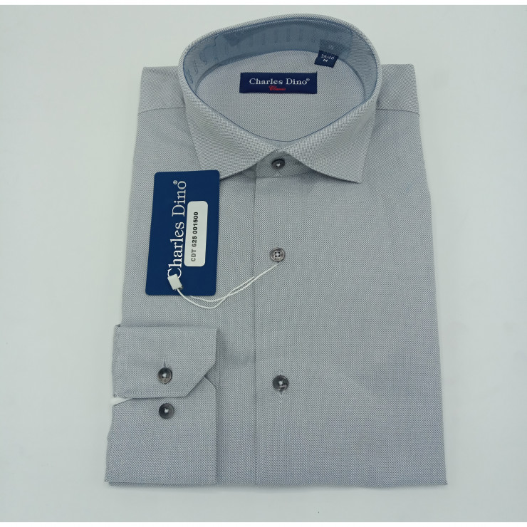 Light Grey Charles Dino Shirt