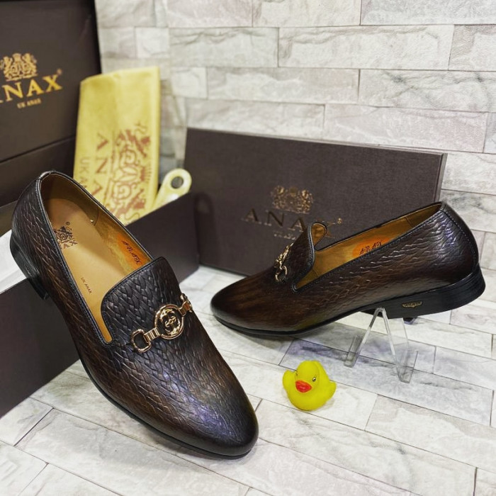 Dark Brown Slipper Loafer  Shoe