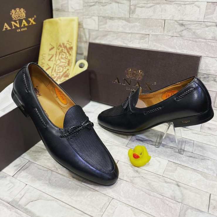 Classic Black Slipper Loafer  Shoe