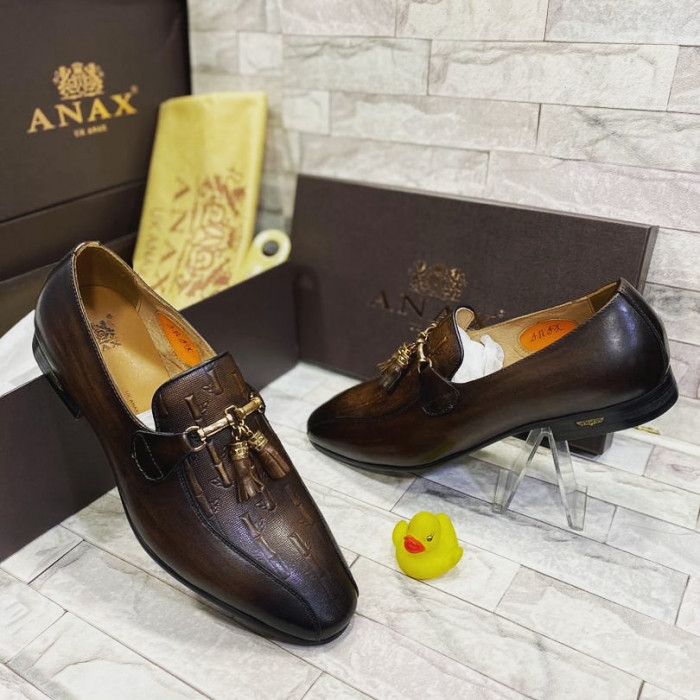 Classic Dark Brown Penny Loafer  Shoe