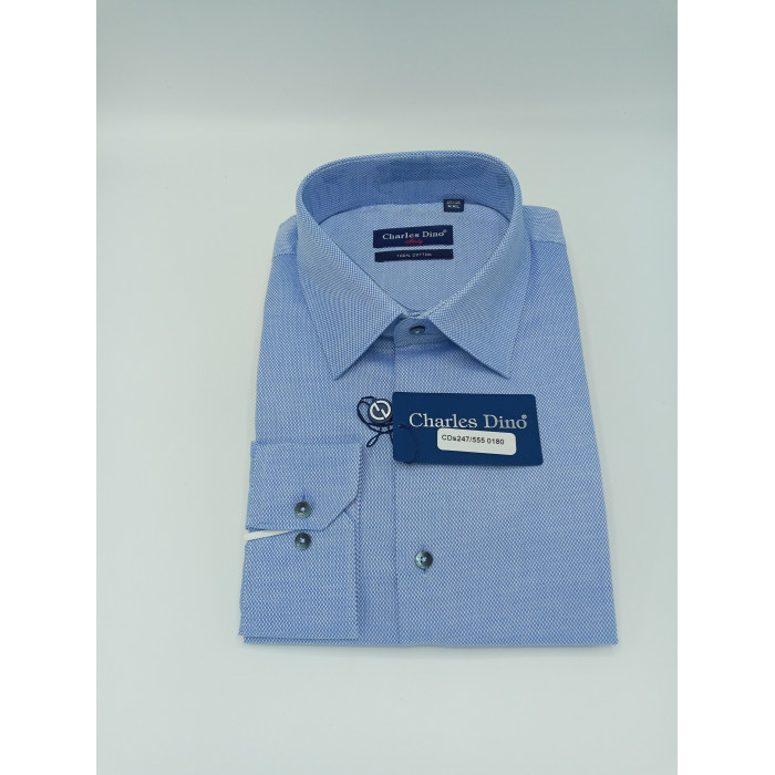 Light Blue Charles Dino shirt