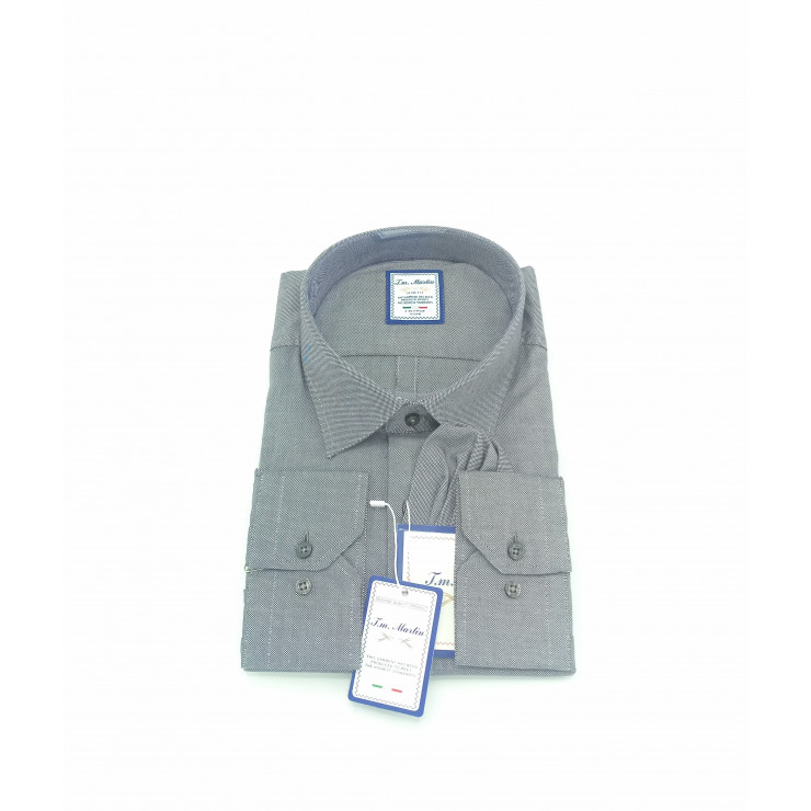Grey Tm Martin Shirt