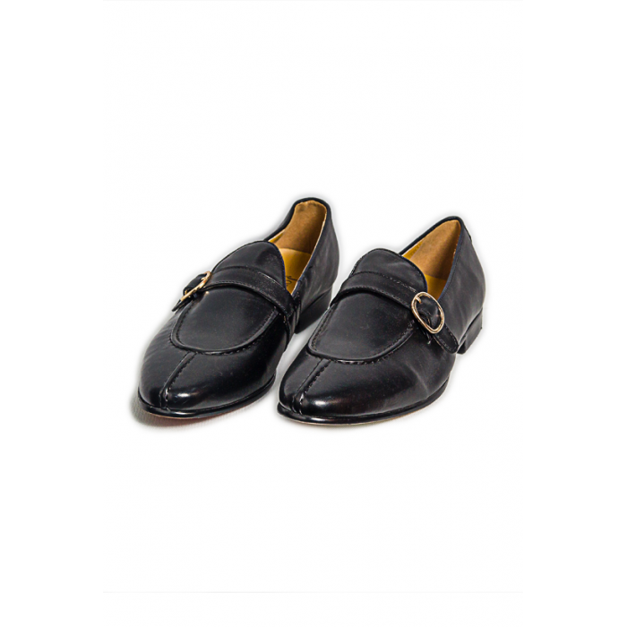 Black Hazel Loafer shoe