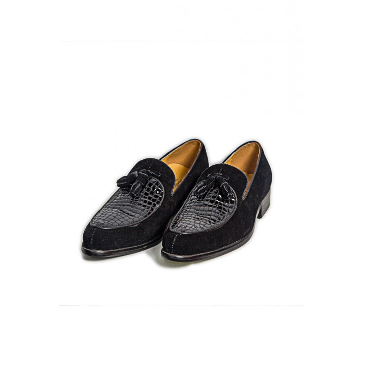 Suede Loafer Shoe