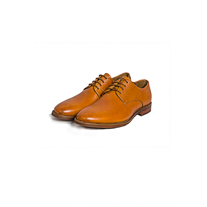 Light  Brown Formal Lace up Shoe