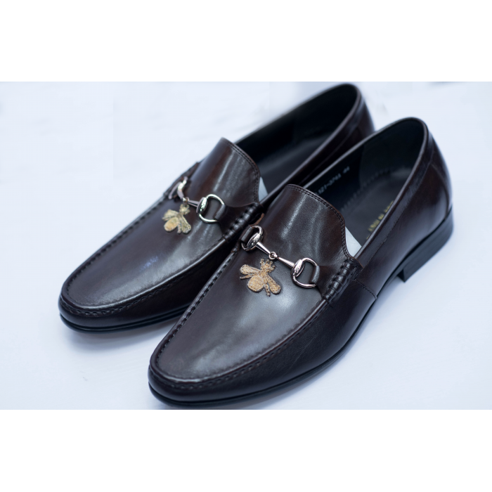Dark Brown Hazel Loafer Shoe