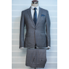Grey checkers suit
