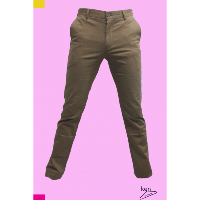 2 in 1 Men's Chinos Trouser (Black | Brown)