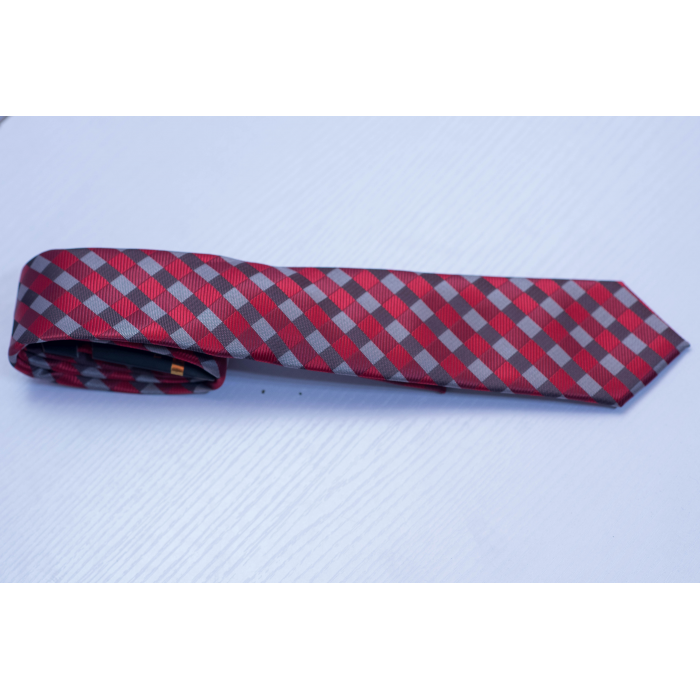 Polka Dot Red Tie