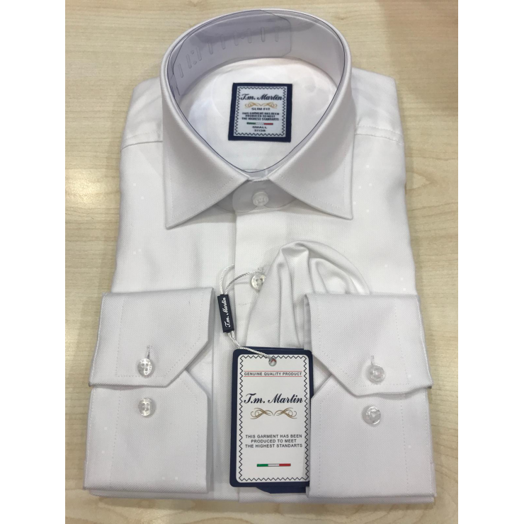 White Tm Martin Shirt
