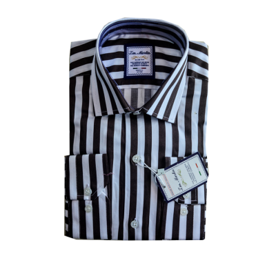 Black Stripe Tm Martin Shirt