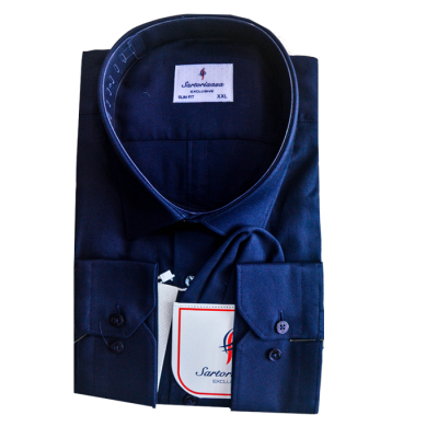 Deep Navy blue Sartoria Shirt