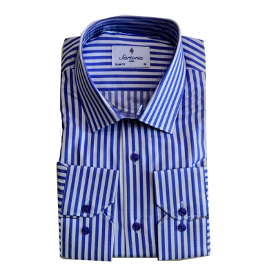 Blue stripe Sartoria Shirt